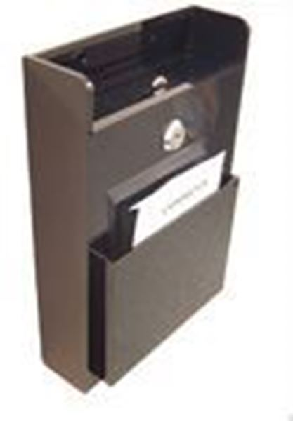 Picture of Wallmount Suggestion Box Black