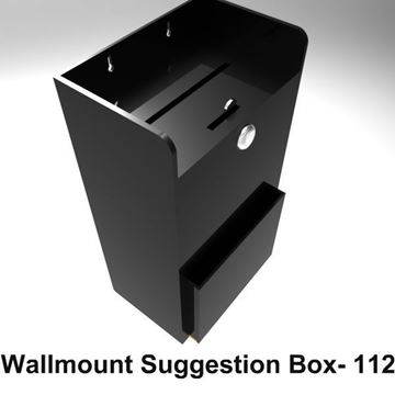 Picture of Large Wallmount Suggestion Box
