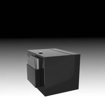 Picture of Countertop Suggestion Box Black