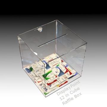 Picture of 12 inch Cube Ballot Box