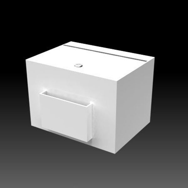 Picture of Countertop Suggestion Box White