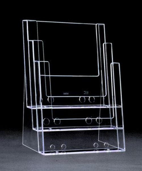 Picture of 3 Pocket Letter Brochure Holder